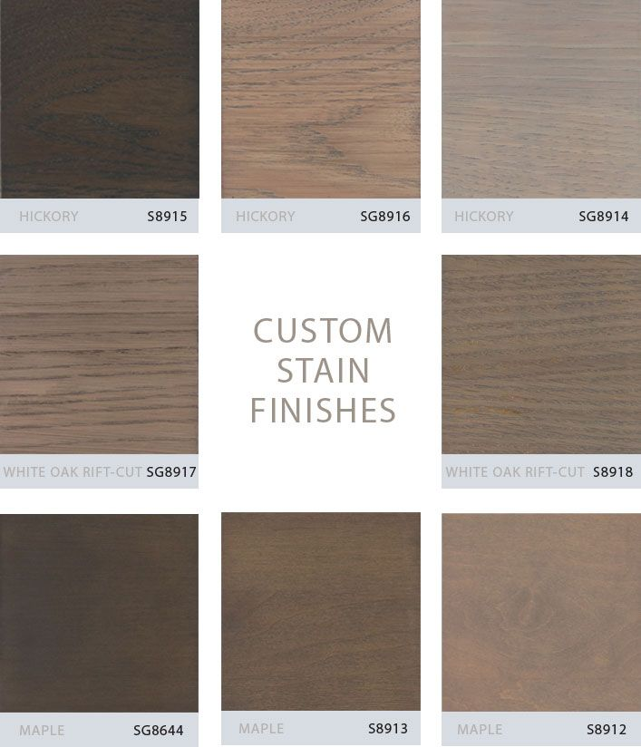 gray stained hickory cabinets | Grabill Turns Its Custom Stain ...