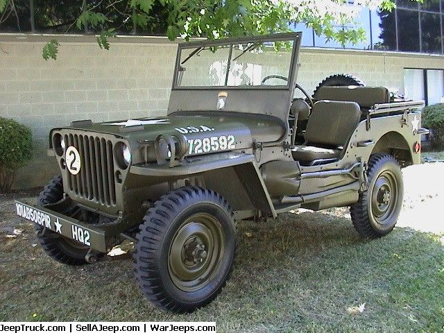 1945 Ford Gpw Jeep Parts For Sale Military Jeep Jeep