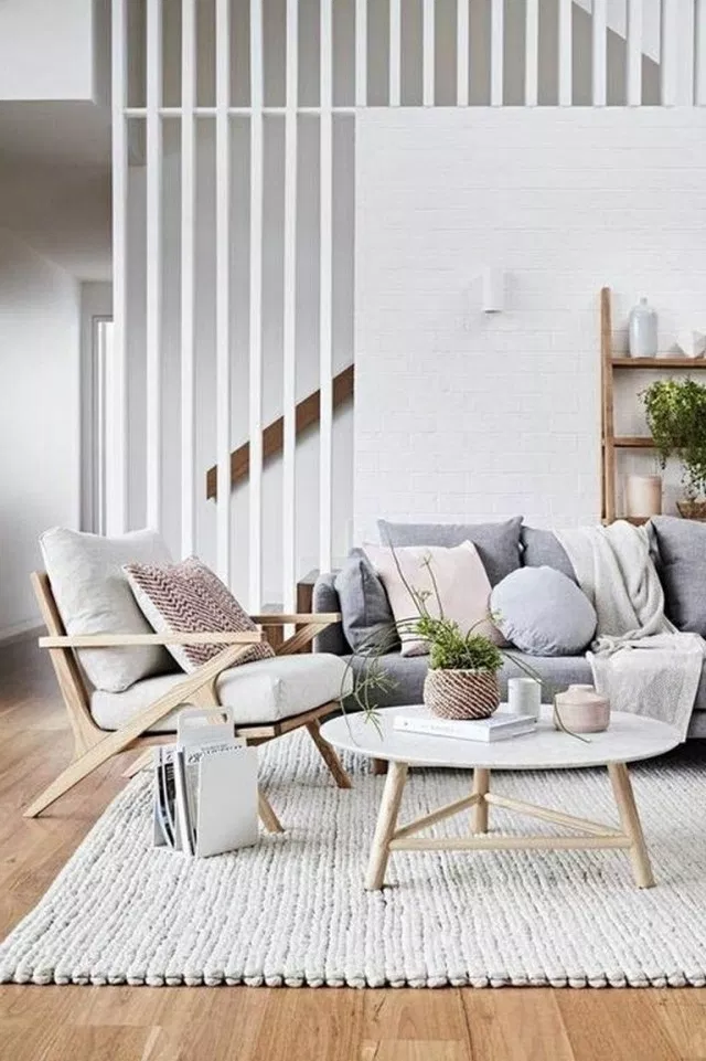 45 Amazing Scandinavian Interior Design Ideas For Inspiration Scandina Living Room Scandinavian Scandinavian Interior Living Room Interior Design Living Room