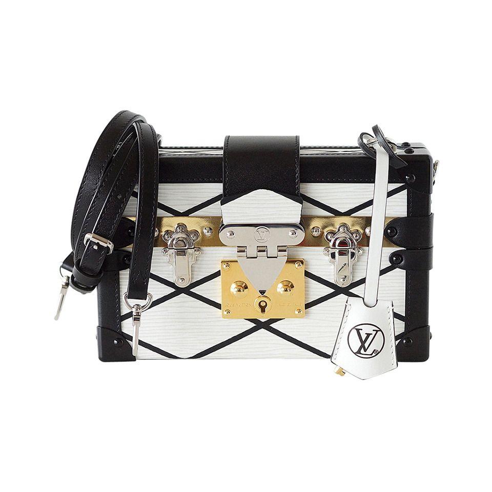 7a57184368d4 LOUIS VUITTON Petite MALLE Epi Trunk bag White Limited Editon Sold Out