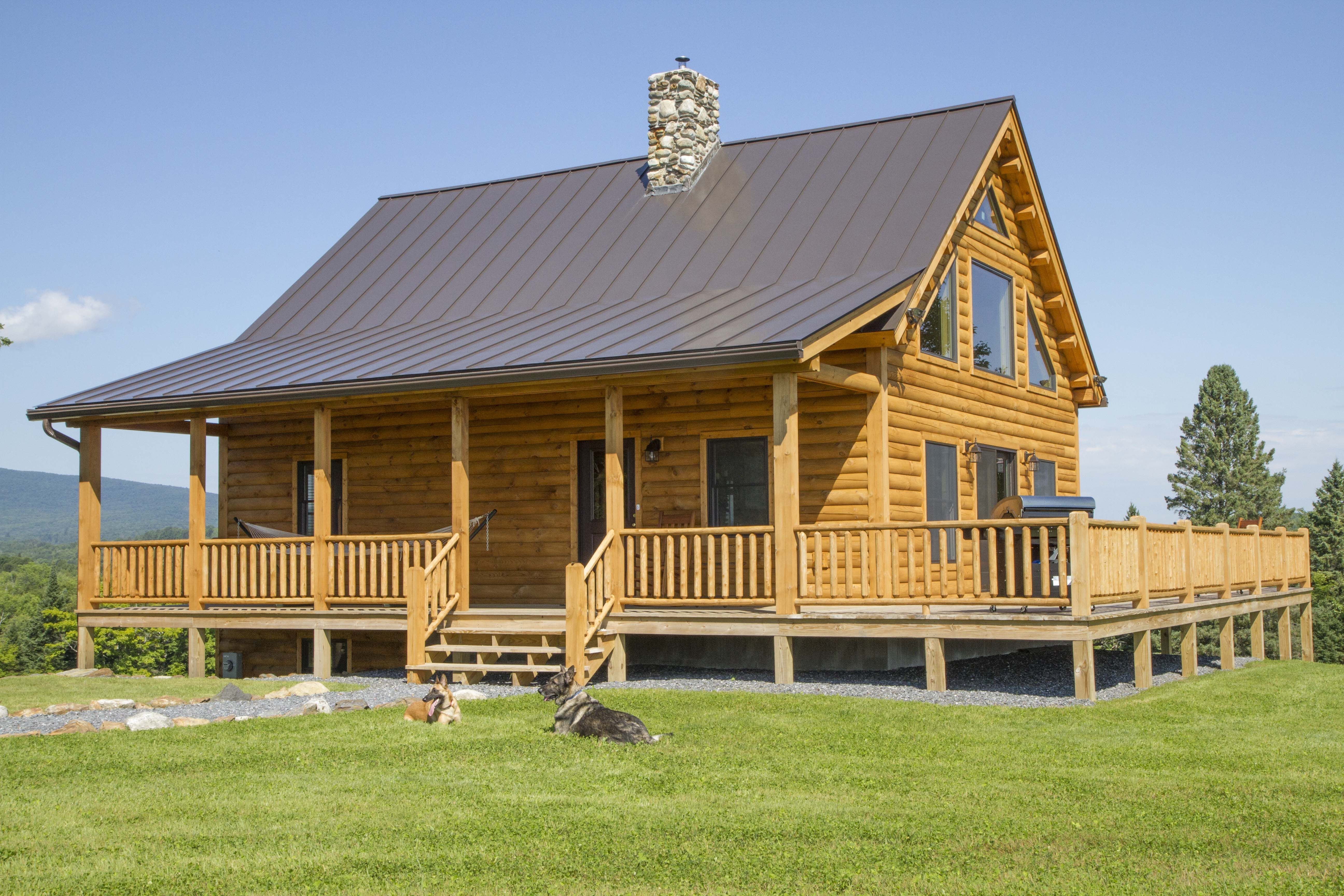 Coventry Log Homes Our Home Designs Craftsman Series The Skyline