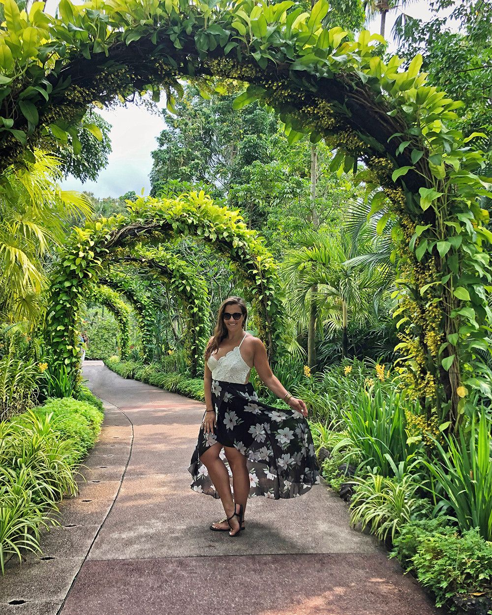 Touring The Singapore Botanic Gardens Sparkles And Shoes Singapore Botanic Gardens Botanical Gardens Botanical