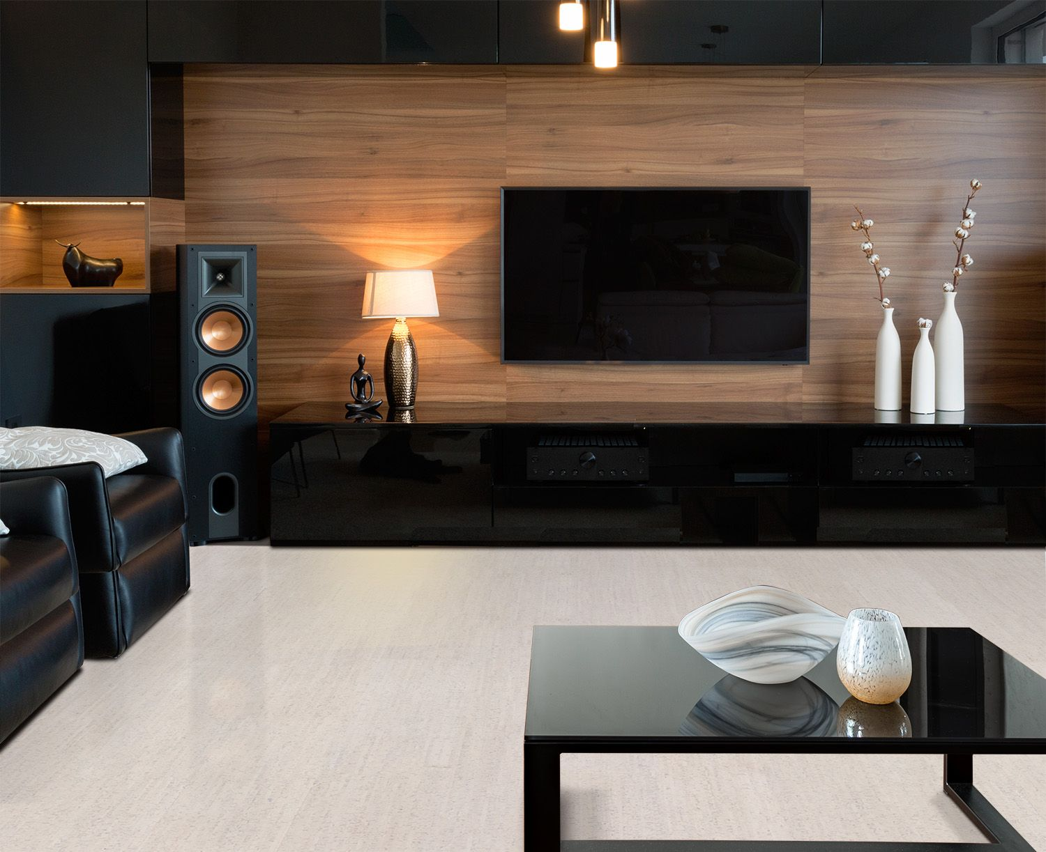 Home Theater Room Acoustics Natural Cork Soundproofing Living Room Home Theater Room Acoustics Home Theater Rooms