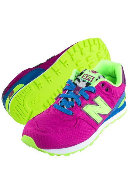 zapatillas new balance mujer fluor