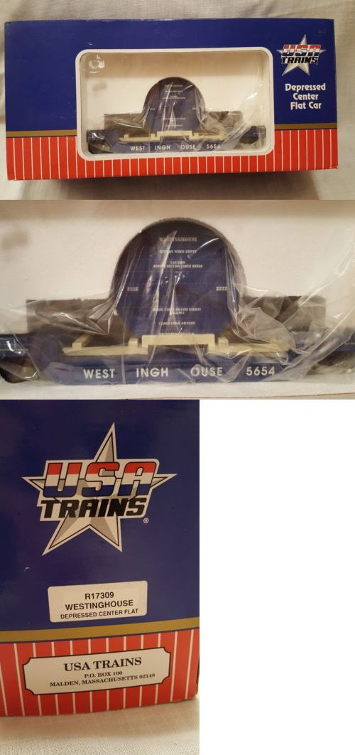 Freight Cars 122580: Usa Flatcar Depressed Center 5654 (R17309 ...