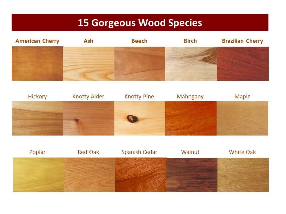 Countertop Wood Species   A&L Kitchen   Pinterest