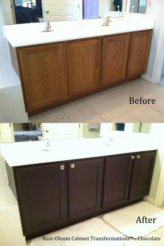 Bathroom Cabinet Refinishing, Refinish Bathroom Cabinets
