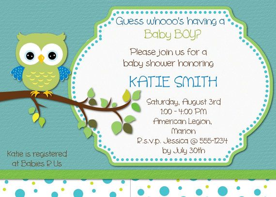 Baby boy owl baby shower invitation by mybabiesbreath on etsy 800 owl invitation by mybabiesbreath filmwisefo Image collections