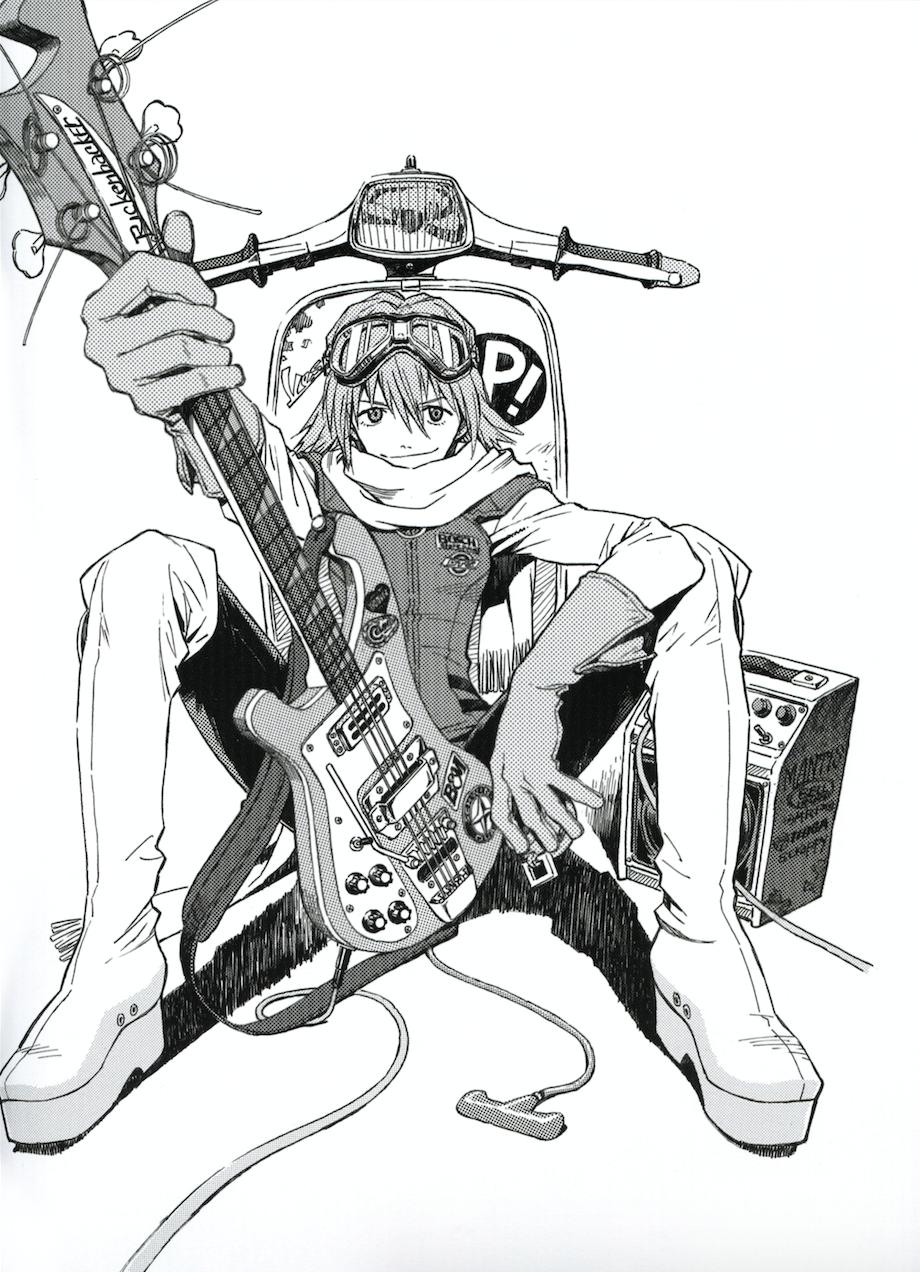 Pin de *Anisazu * em Manga Black & White Anime, Manga