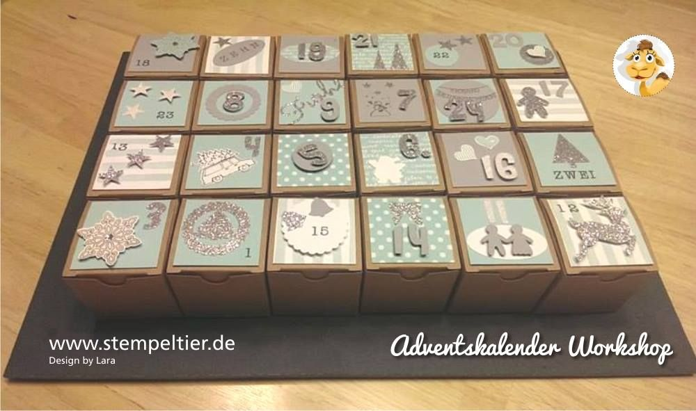 Adventskalender Workshop | ideas | Pinterest | Selber machen ...