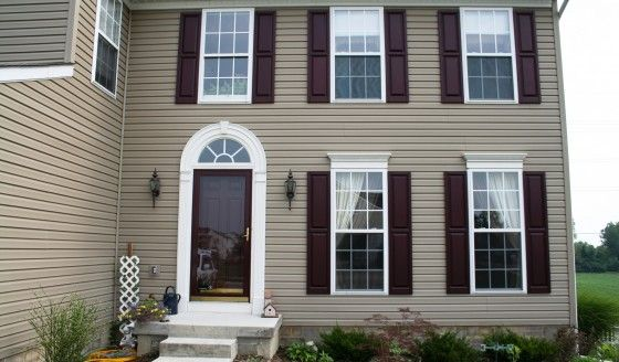 brown shutters love 3 pinterest house colors exterior house