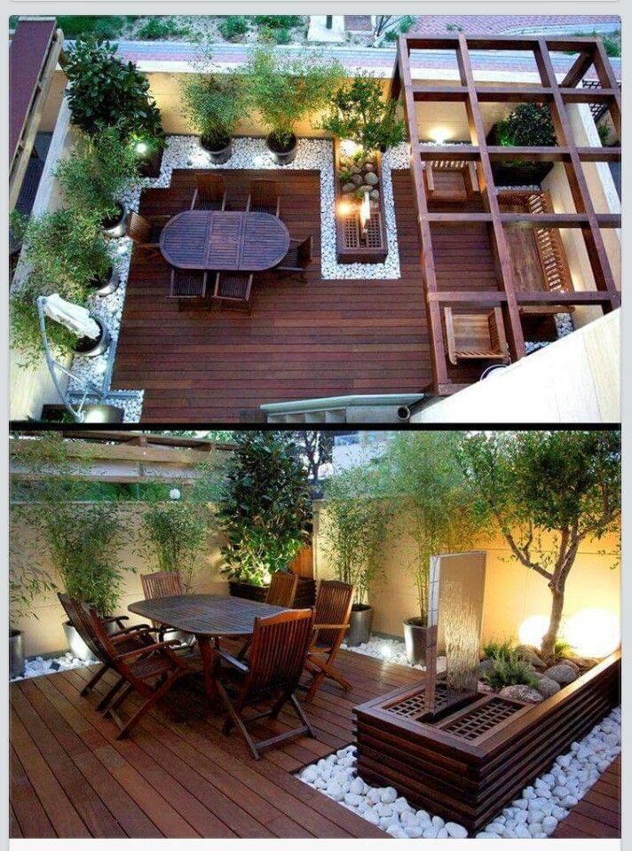 Roof garden ideas | Rooftop terrace design, Backyard ...
