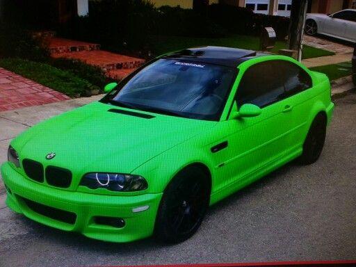 Green Plasti Dipu0027d BMW ///M3