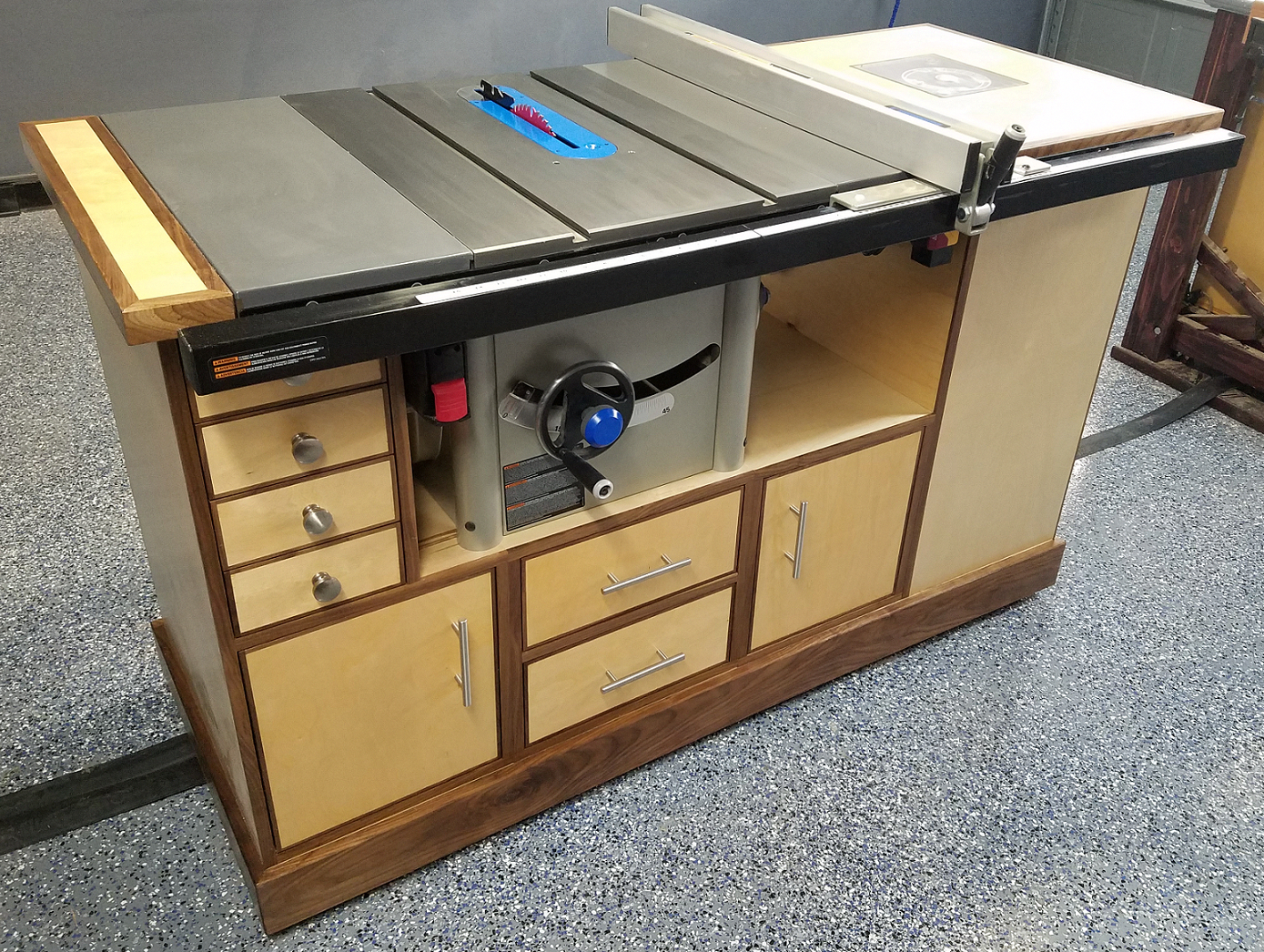 Setting Up Shop Stationary Power Tools In 2020 Table Saw