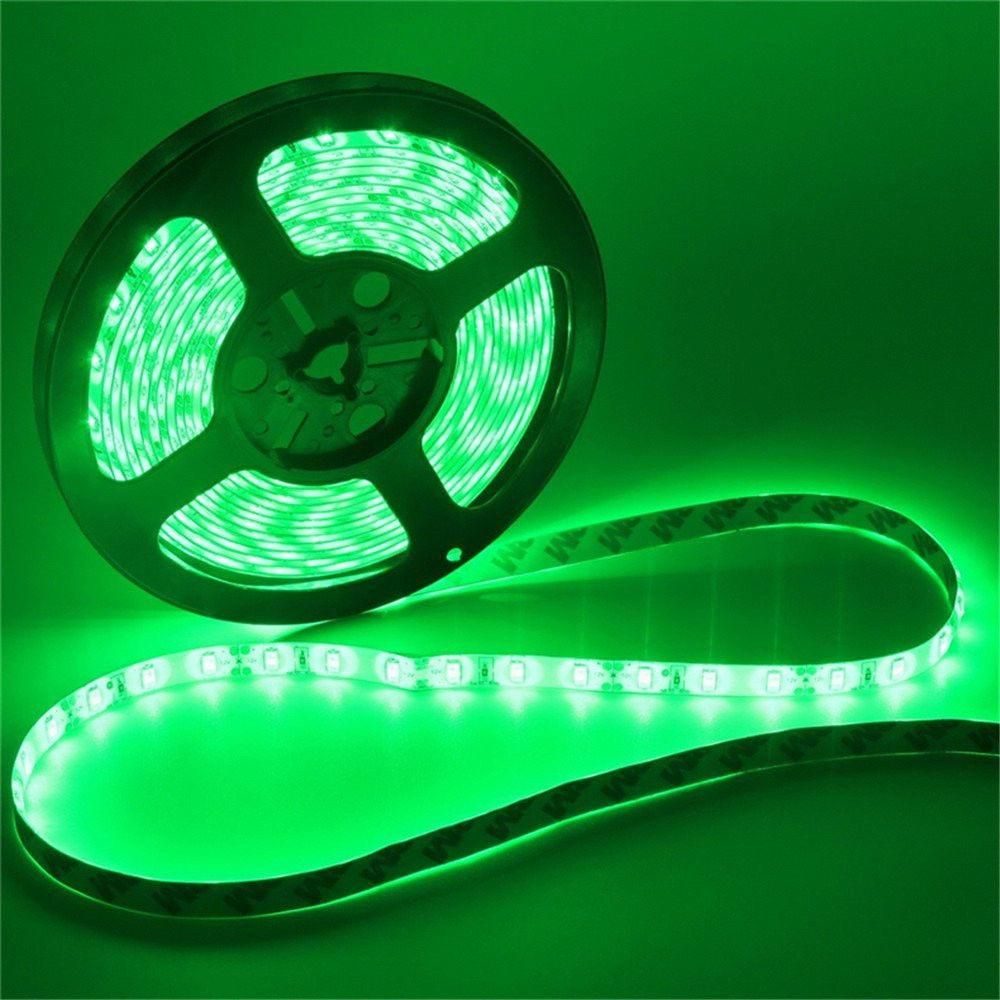 New Waterproof 5630 Smd 300 Leds 5m Ribbon Tape Light Flexible Strip Lamp Dc 12v Green Strip Lighting Led Strip Flexibility