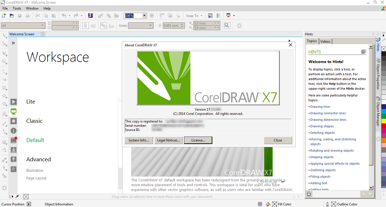 corel draw x7 free download full version with crack