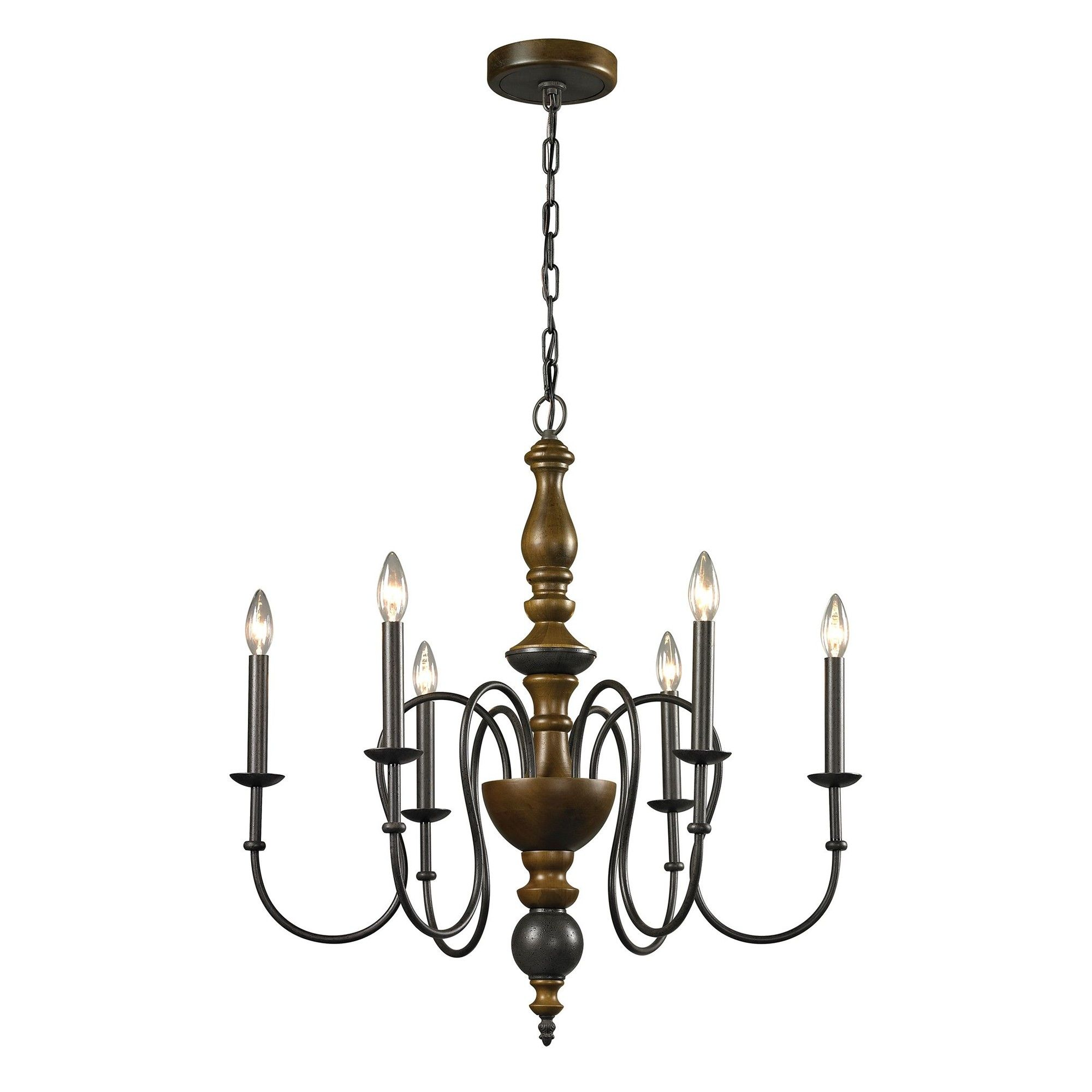 french country 6 light candle chandelier wayfair monterey