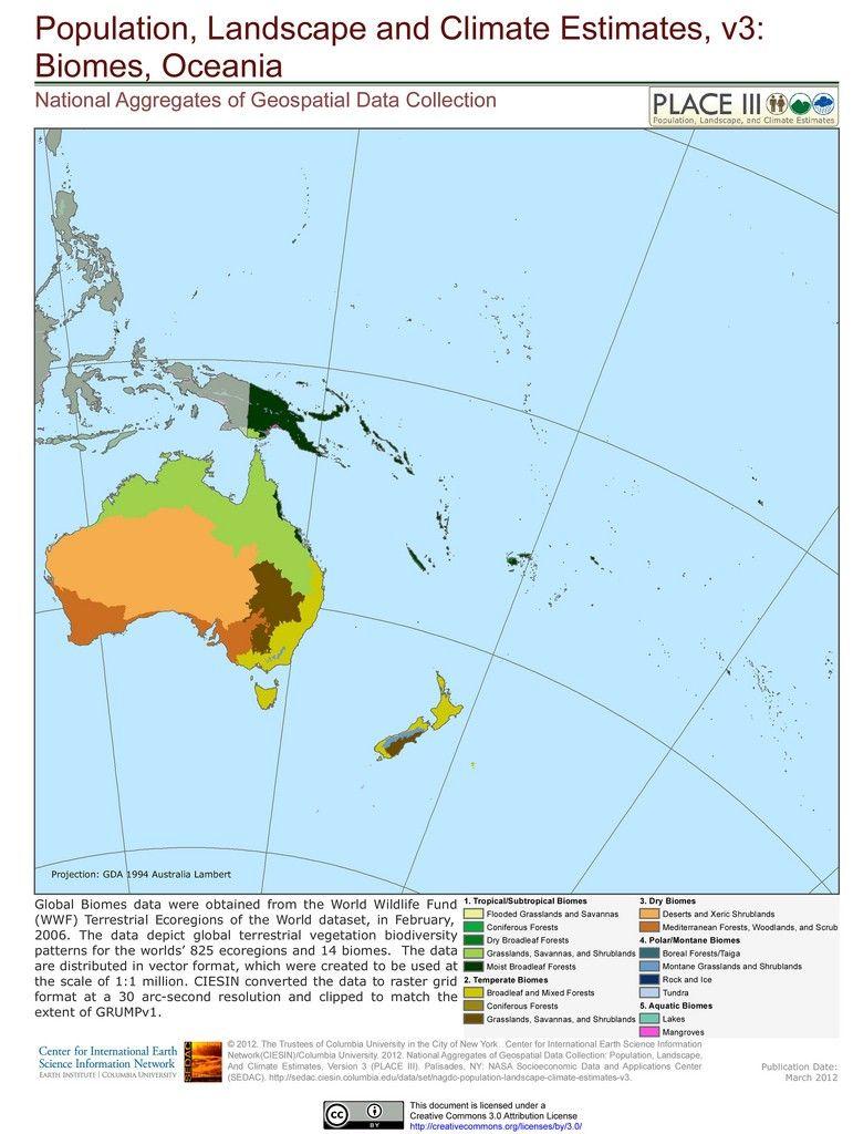 Biomes Oceania Biomes Australia Landscape Natural Phenomena [ 1024 x 771 Pixel ]