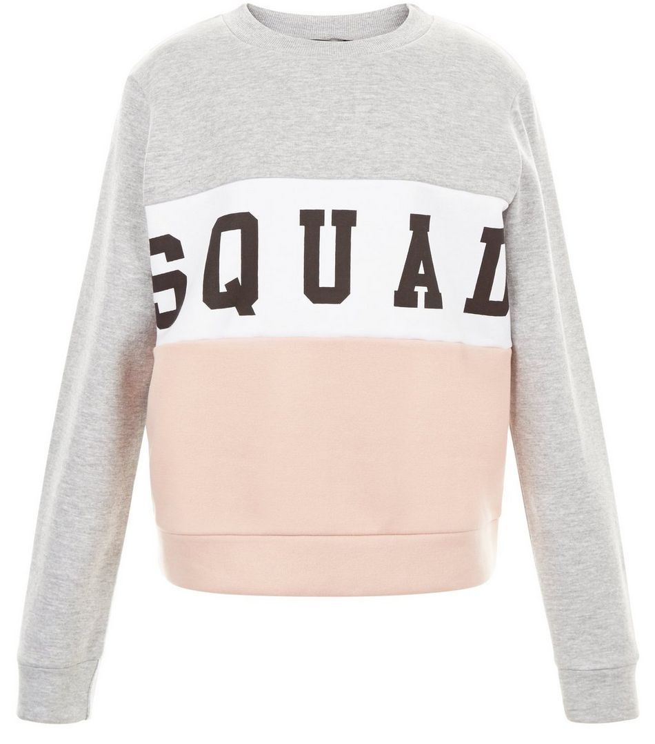 Teens Squad Colour Block Sweater | Squad, Color blocking and Teen