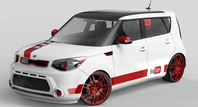 Kia Turns The Soul Into A Youtube Player On Wheels Carscoops Kia Soul Kia Kia Motors