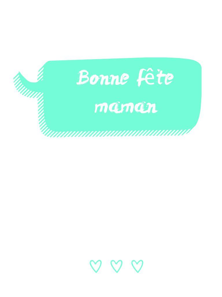 Carte de fête des mères pour écrire des mots doux ou un poème. (Me contacter si vous voulez le fichier complet)