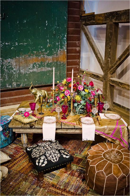 indie styled reception idea @weddingchicks