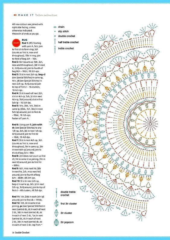 - Salvabrani #crochetmandalapattern