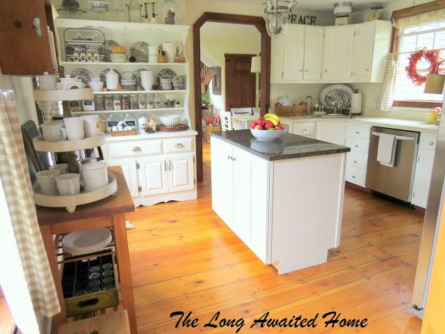 The Long Awaited Home White Kitchen Reveal Paint Cabinets White White Kitchen Kitchen