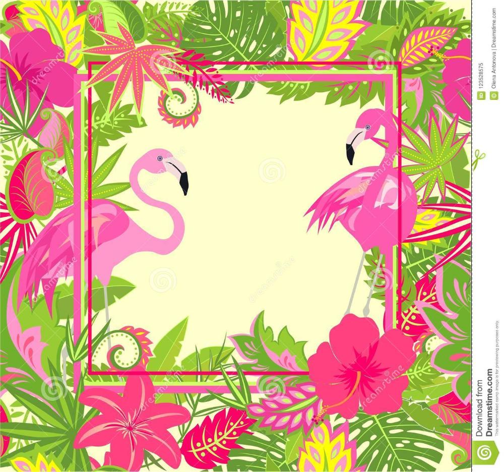 Beautiful Hawaiian Wallpaper With Exotic Flowers,