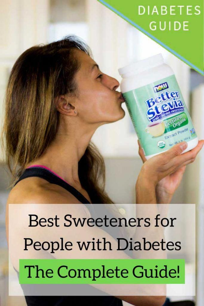 A review of all the natural and artificial sweeteners on the market, how they affect blood sugar, and which are the best sweeteners for people with diabetes.