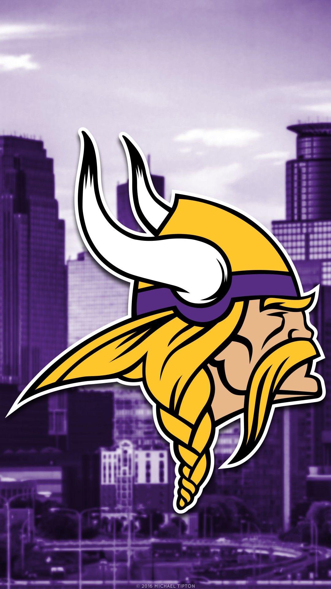 New Minnesota Vikings iPhone Wallpaper in 2020 Minnesota