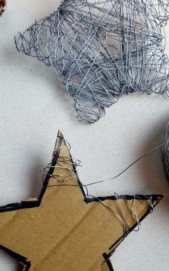 Photo of DIY Drahtsterne als Tischschmuck