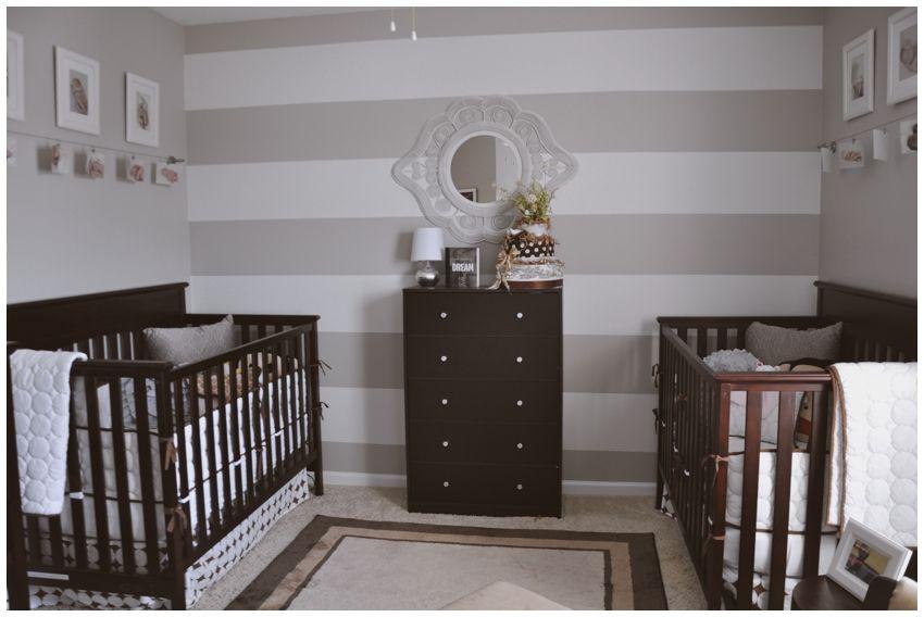 Neutral twin nursery | Future baby Denhams | Pinterest | More Twin ...
