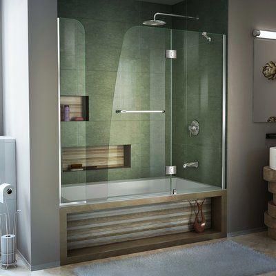 Dreamline Aqua 60 X 58 Hinged Tub Door Bathtub Doors Tub