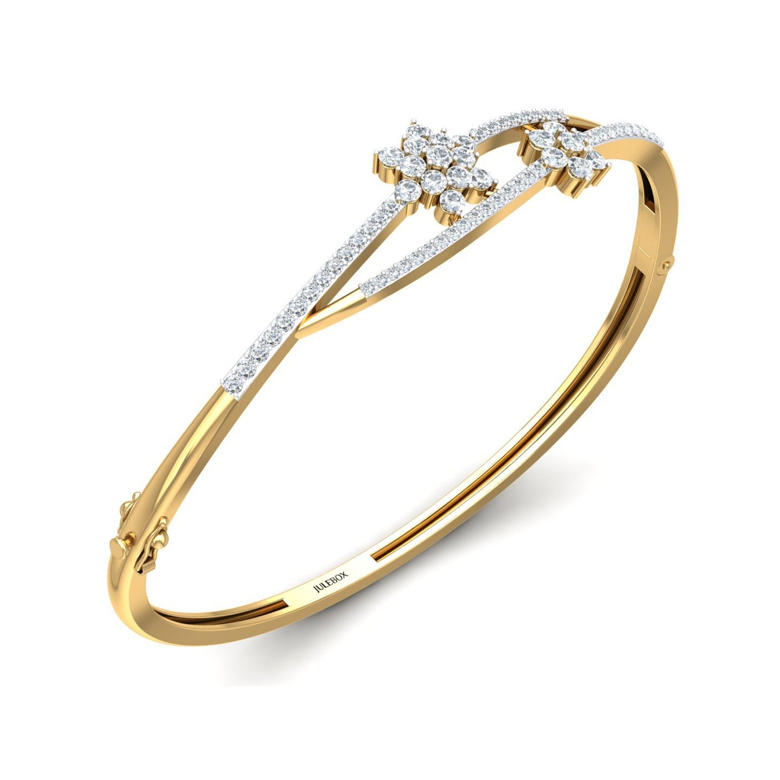 Exclusive offer on gold and diamond bracelet for women julebox