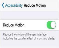 Reduce Motion Reduce Motion via Geek Easier www.pinterest