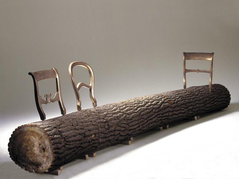 Tree trunk bench van Jurgen Bey  1999. 51 best Dutch designers images on Pinterest   Dutch  Furniture and