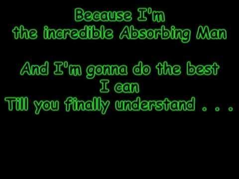 Absorbing Man (Carl Creel's theme)