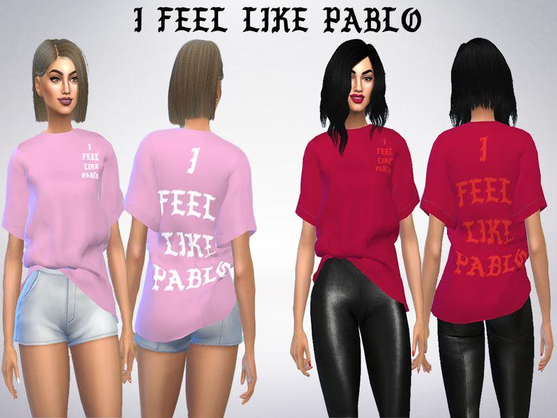 a4c259e5cdb Cesarespinozav s Yeezy I feel like Pablo KW Shirt RETEXTURE