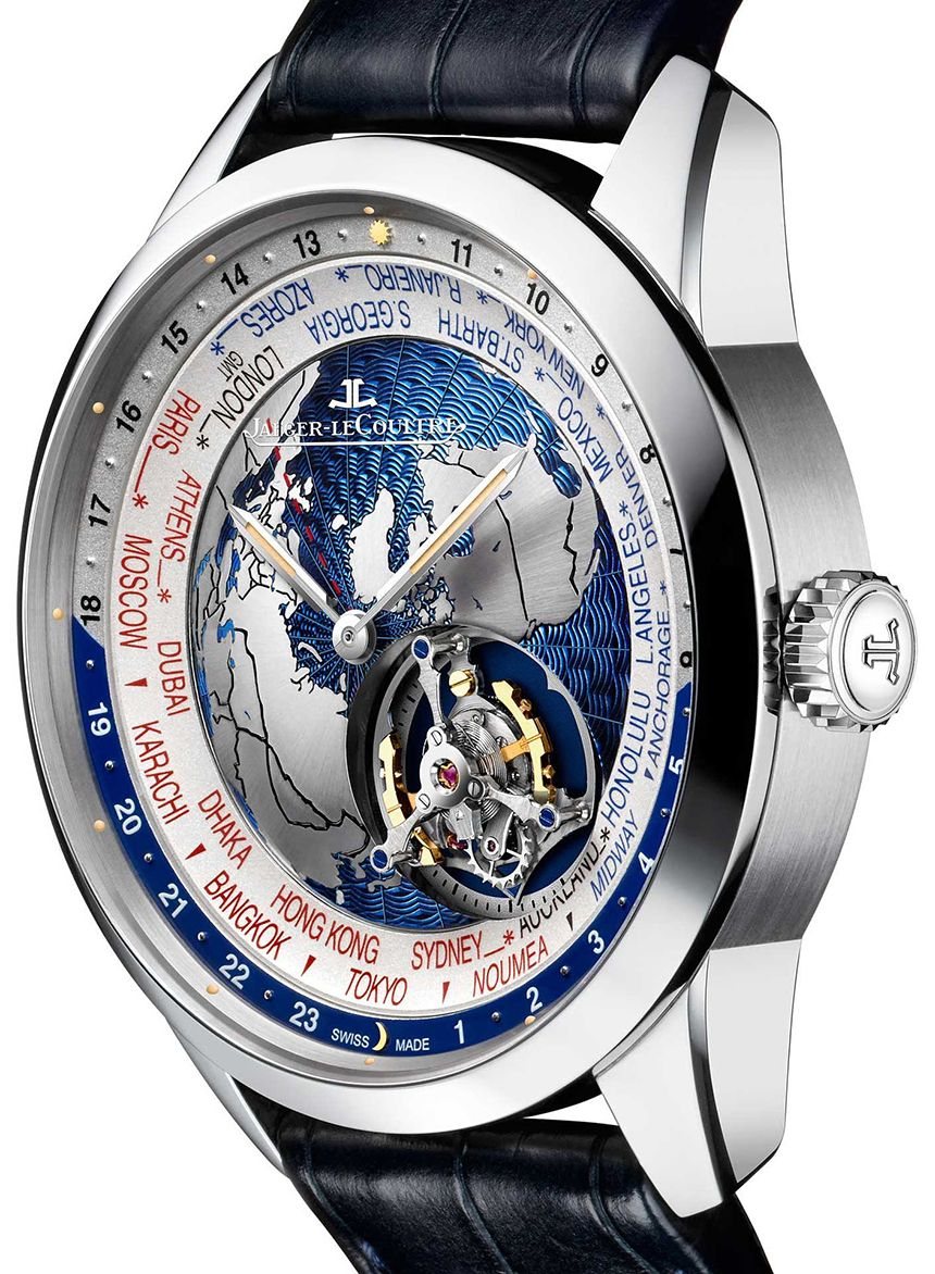 60daf5288ae Jaeger-LeCoultre Geophysic Tourbillon Universal Time Watch Watch Releases