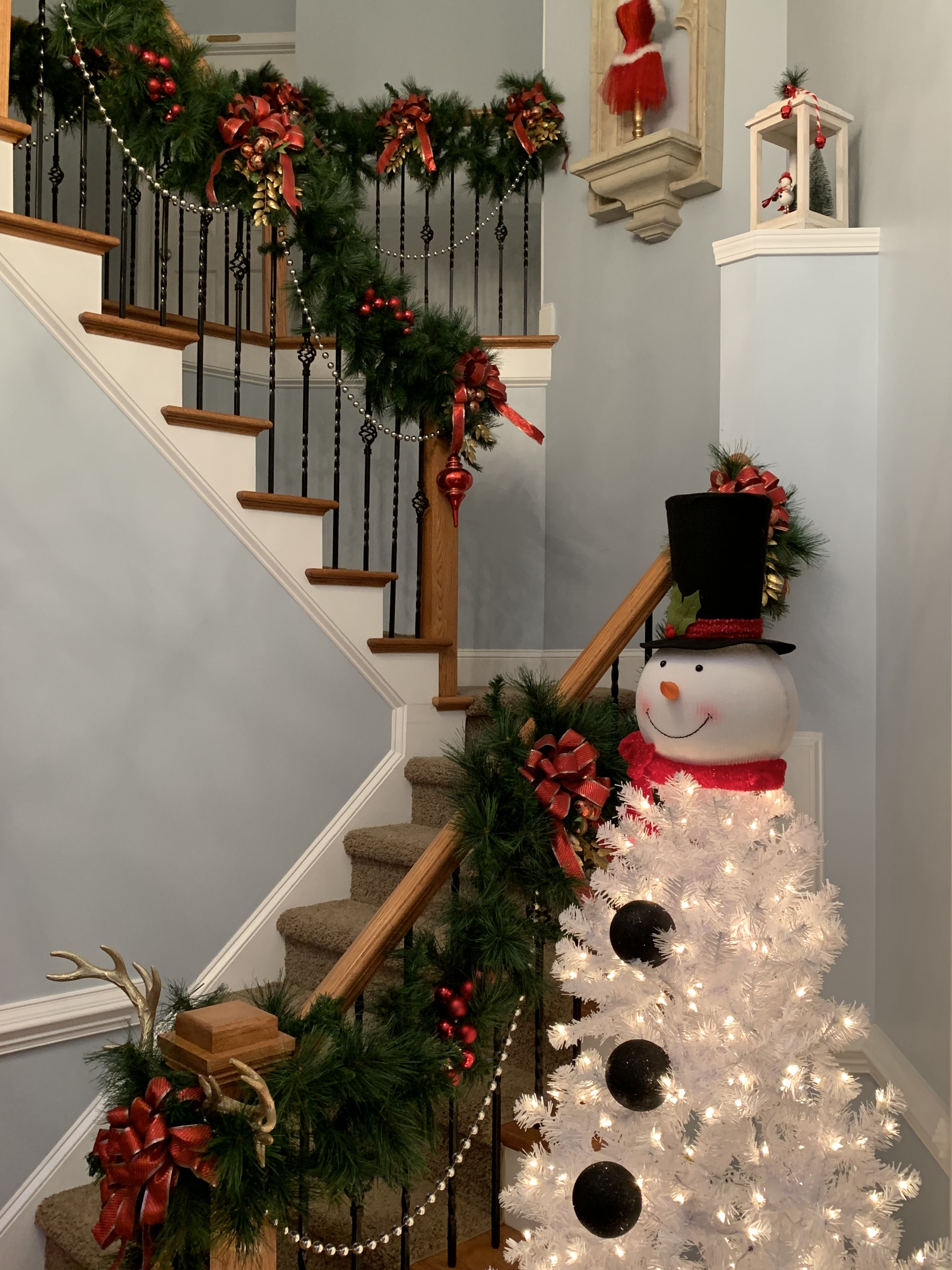 Frosty the Snowman Tree christmas diy madforrehab