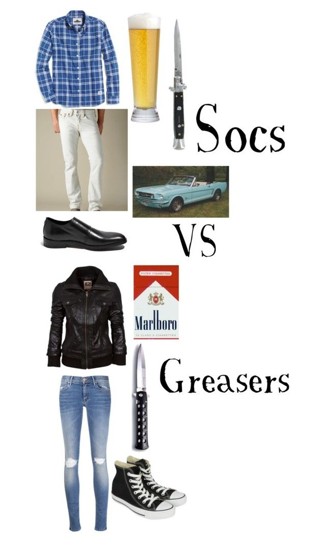 socs vs greasers by staygoldponyboy1 on polyvore