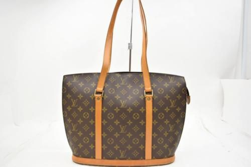 Authentic-Louis-Vuitton-Tote-Bag-Babylone-M51102-Browns-Monogram-68579