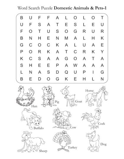 word search puzzle domestic animals 1 download free word search puzzle domestic animals 1 for. Black Bedroom Furniture Sets. Home Design Ideas