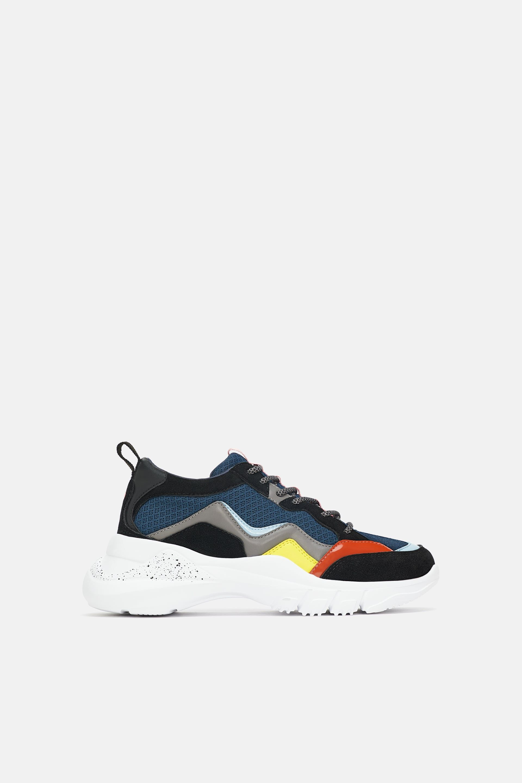 de9e33f91b4f8 Contrasting sneakers in 2019 | shoesies | Sneakers multicolor ...