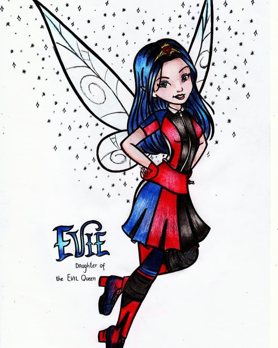 Evie Daughter Of The Evil Queen Disneydescendants