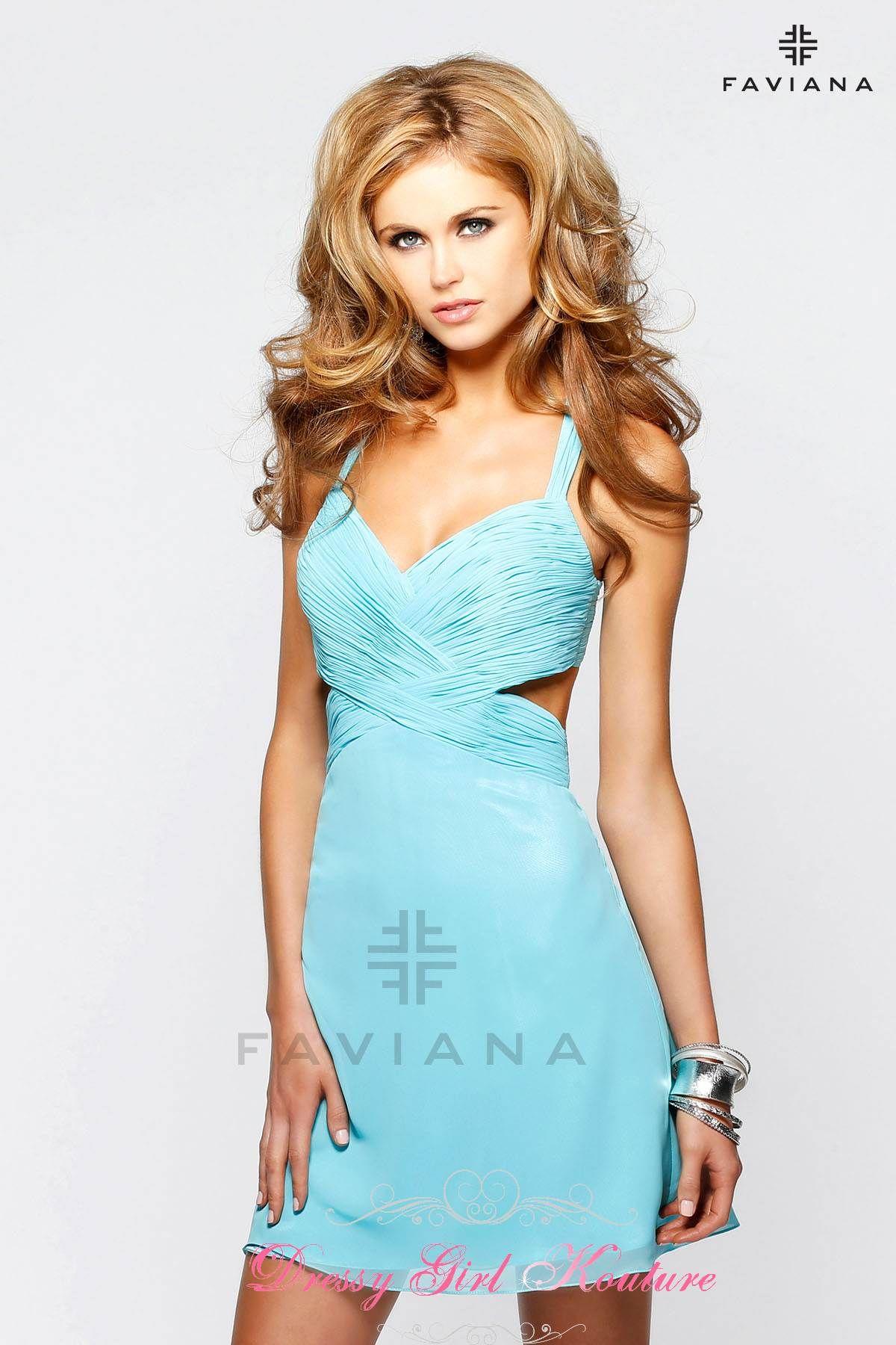 Faviana 7201 #FitandFlare #SelenaGomezInspired #FavianaDress ...