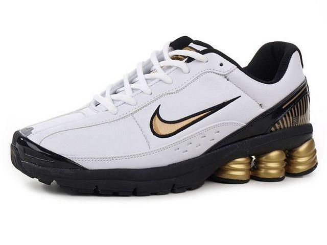 brand new 38fa5 5914b Chaussures Nike Shox R6 Or  Blanc  Noir  nike 12313  - €45.85