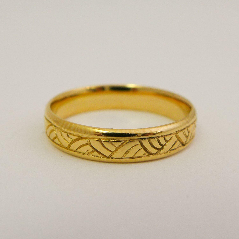 20++ Womens yellow gold wedding rings ideas