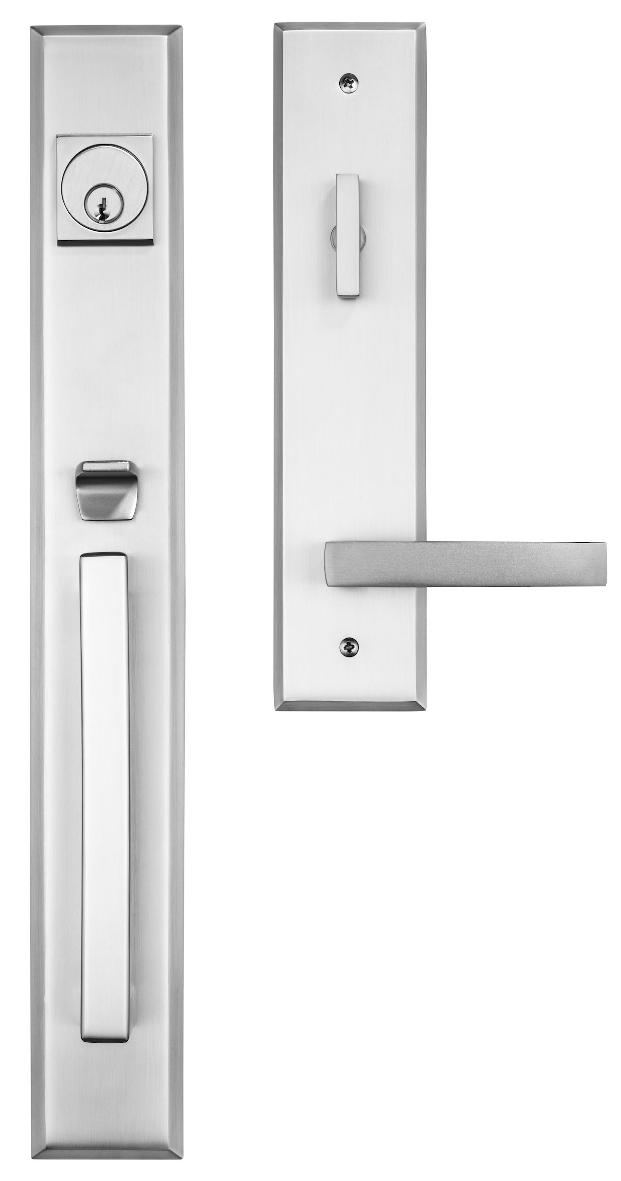 Rockwell Premium Lumina Handle Set With The Delta Lever In